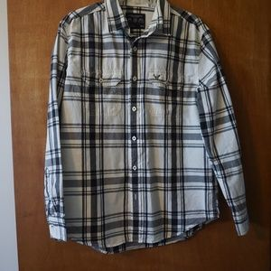 American Eagle Outfitters Men's Long Sleeve Shirt